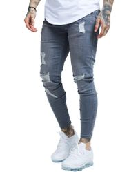 SIKSILK - Ripped Jeans - Lyst