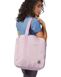 f9c76cfec59cf Reebok Classic Zippered Men s Bag In Pink in Pink - Lyst