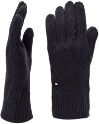 Tommy Hilfiger - Mini Flag Knitted Gloves - Lyst