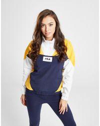 Fila - Colour Block 1/4 Zip Jacket - Lyst