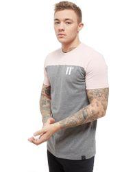 11 Degrees - Colour Block T-shirt - Lyst
