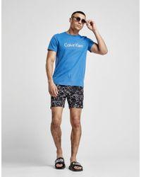 CALVIN KLEIN 205W39NYC - All Over Print Swim Shorts - Lyst
