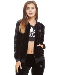 7ea931e5373c ... adidas Originals - Velvet Superstar Track Top - Lyst  adidas Originals. adidas  Velvet Vibes SST .