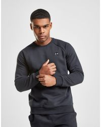 Under Armour - Rival Crew Sweatshirt - Lyst