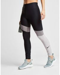 Nike - Training Colourblock Tights - Lyst