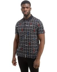 Lacoste - Djokovic Grid Check Polo Shirt - Lyst