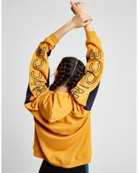 Nicce London - Contrast Sleeve Logo Hoodie - Lyst