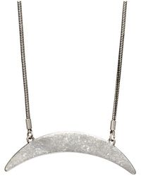Jenny Bird - Crescent Moon Necklace - Lyst