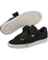 54f7f38518eede PUMA - Suede Heart Celebrate Sneaker - Lyst