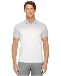 CALVIN KLEIN 205W39NYC - Mens Engineered Striped Rugby Polo Shirt White 2xl - Lyst