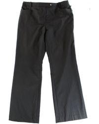 Calvin Klein   Womens Petites Signature Straight-leg Cropped Pants   Lyst