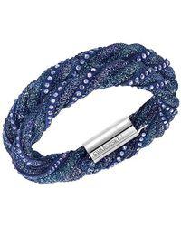 Swarovski - Stardust Twist Bracelet - Lyst