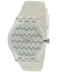 Swatch - Wavey Dots Unisex Watch Suok118 - Lyst