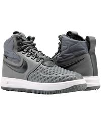 timeless design 2437d 68456 Nike - Air Luanr Force 1 Duckboot  17 Grey anthracite Shoes 916682-003