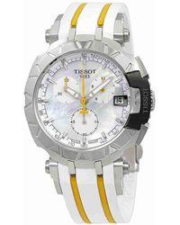 Tissot - T-race Chronograph Watch T092.417.17.111.00 - Lyst