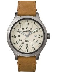 Timex - Expedition Scout 43 Natural Dial Watch - Lyst