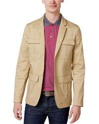 Calvin Klein - Modern Safari Jacket Beige L - Lyst