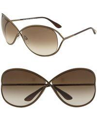 Tom Ford - Ft0130 Miranda Butterfly Sunglasses, 68mm - Lyst