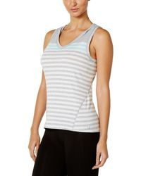 Calvin Klein - Striped Hooded Tank Top - Lyst