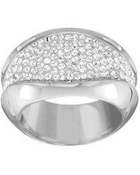 Lyst - Swarovski Vanilla Ring in Metallic 830dade66950