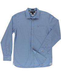 5cfd31932 Tommy Hilfiger Classic Fit Non-iron Button-down Shirt in White for ...