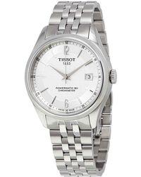 0880746c762 Tissot - T-classic Ballade Automatic Watch T108.408.11.037.00 - Lyst