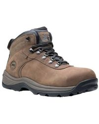 07e0822d3fa Timberland Flume Mid Waterproof Boot in Brown for Men - Lyst