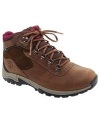 Lyst - Timberland Earthkeepers Mount Hope Mid Leather fabric Boot in ... d76269747da6