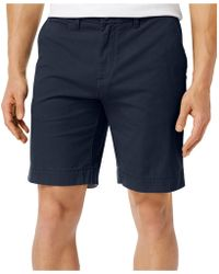 Tommy Hilfiger - Core Classic-fit Flat Front Shorts - Lyst