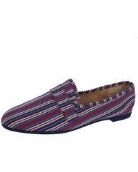 791629d8081 Lyst - Steve Madden Meela Patent Tassel Loafers in Black