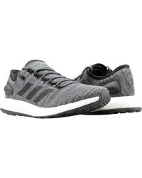 brand new 11e44 6ba42 adidas - Pureboost All Terrian Black Running Shoes - Lyst