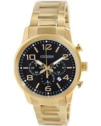 Citizen | Chronograph An8052-55e Black Dial Watch | Lyst