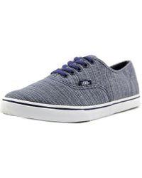6a08aab953e27e Lyst - Vans Unisex Authentic Della Sneakers Batikmulti M6.5 W8