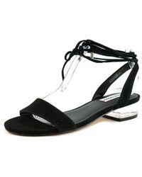 3b1da877976 Steve Madden - Carolynn Women Us 9 Black Sandals - Lyst