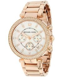 Michael Kors - Mk5491 Parker Stainless Steel Watch - Lyst
