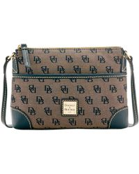 Dooney & Bourke | Madison Signature Ginger Pouchette | Lyst