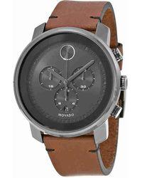 Movado - Bold Chronograph Grey Dial Watch 3600367 - Lyst