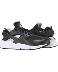 Lyst - Nike Air Huarache  flat Silver-white Running Shoes 318429-029 ... 55530c4e379d