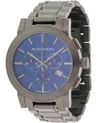 Burberry - Bu9365 Stainless Steel Watch - Lyst