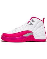 separation shoes 9c1fd 38338 Nike - Air Jordan 12 Retro Gg Whitevivid Pink-silver Basketball Shoes (