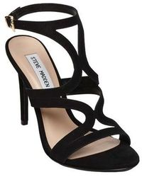 69b6fd602f5d98 Steve Madden - Sidney Ankle Strap Dress Sandal - Lyst