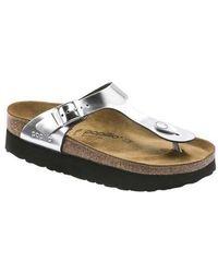 02c6cf80104 Birkenstock - Papillio Gizeh Platform Thong Sandal - Lyst
