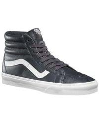 d4e2fabe0d Lyst - Vans Sk8-hi Reissue Zip Sneakers In White V4kyii9 - White in ...