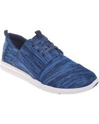 3ef0a452790e TOMS - Del Rey Knit Nautical Multi Ankle-high Fashion Sneaker - 7m - Lyst