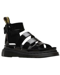 1c750c9824d0 Lyst - Dr. Martens Pewter Shore Clarissa Chunky Strap Sandals in Yellow