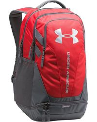 61973555a3 Lyst - Under Armour Big Logo 5.0 Backpack in Blue