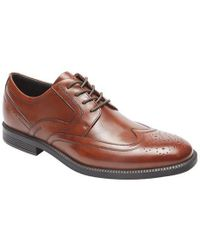 Rockport - Dressports Business Wing Tip Oxford - Lyst