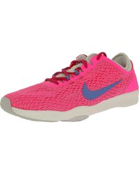 Nike | Zoom Fit W Pink Pow/polar/fireberry/pure Platinum Ankle-