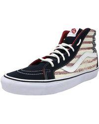 1830ab2fff Vans - Unisex Sk8-hi Reissue Americana Sneakers Dressblues M6 W7.5 - Lyst