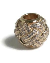 PANDORA - Authentic Sparkling Love Knot 14k Charm 750991cz - Lyst